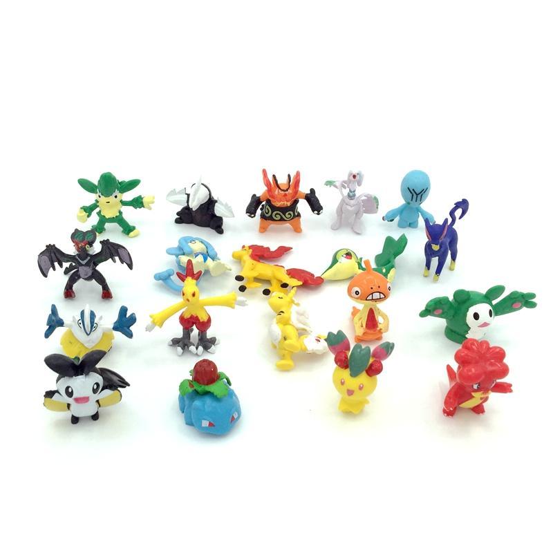 2-3cm PVC Pokemon figure 4