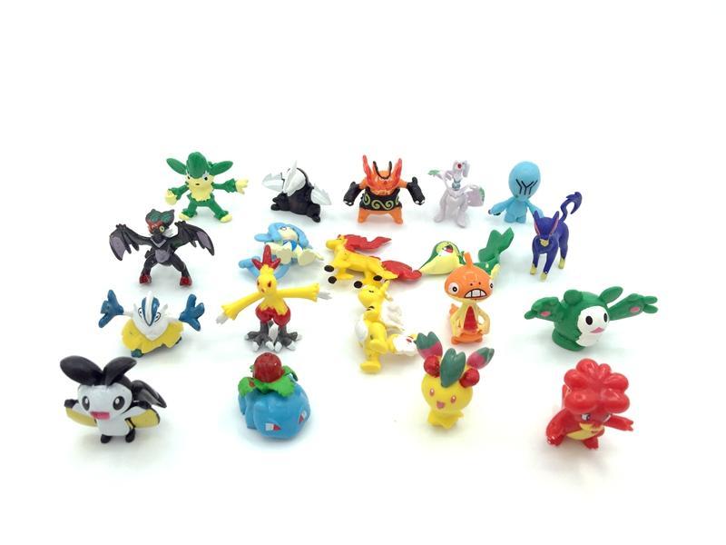 2-3cm PVC Pokemon figure 5