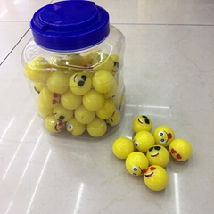 32 mm Emoji Bouncy Ball