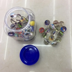 32 mm Transparent High Bouncy Ball