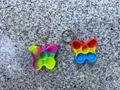 Bubble fidget butterfly