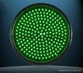 Full Circle Red LED Traffic Light