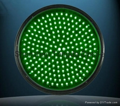 Full Circle Red LED Traffic Light