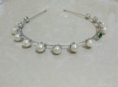 Fashion Faux Pearl Headband