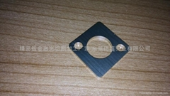 不鏽鋼拉絲板材激光切割工件
