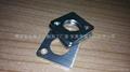 不鏽鋼拉絲板材激光切割工件 2