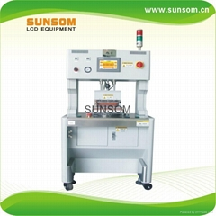 Glass to   glass lamination machine