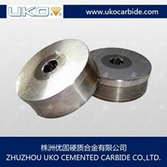 Tungsten carbide wire drawing die