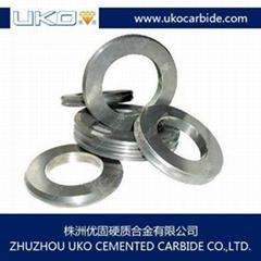Tungsten carbide groove roll