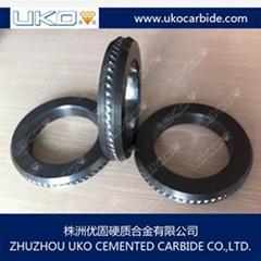 Tungsten carbide profile roll