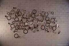 artistic metal wall art sculpture