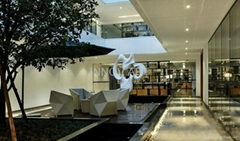 Modern style  sculpture for hotel