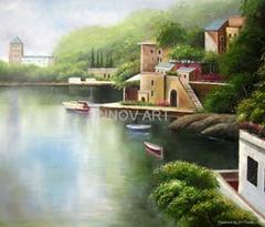 scenery seascape art painting