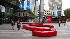 sculptural fiberglass art furniture