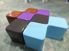 resin or fiberglass decoration furniture