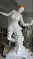 customized artistic painted resin cast art sculptures 5