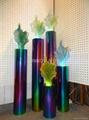 Imitation jade sculpture in resin art 3