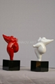 abstract polyresin craft work