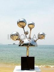 outdoor freeform decoration sculpture