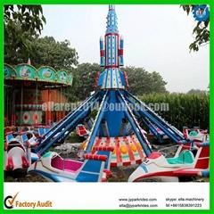 Self control plane, theme park amusement airplane swing ride
