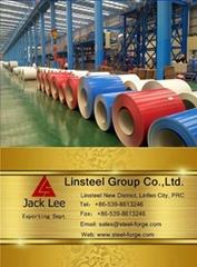 PPGI prepainted galvanized color coated steel coil