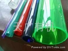 有机玻璃Φ2~Φ6彩色圆管