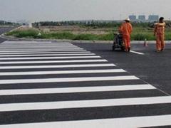 云南昆明交通设施致安市政热熔标线