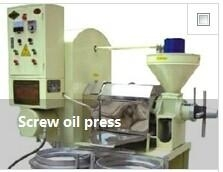 Hot sale screw oil press