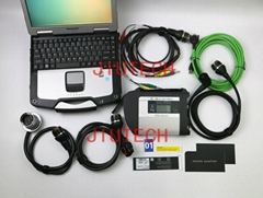 Full Set MB SD C4 Compact 4 With Panasonic cf30 Mercedes Star Diagnosis