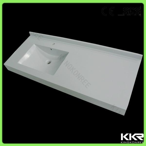 Kkr Modern Design Solid Surface Molded Sink Countertop 1