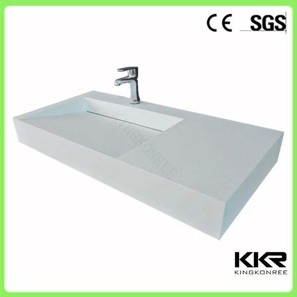 KKR Modern Design Solid Surface Trough Sink 1 ...
