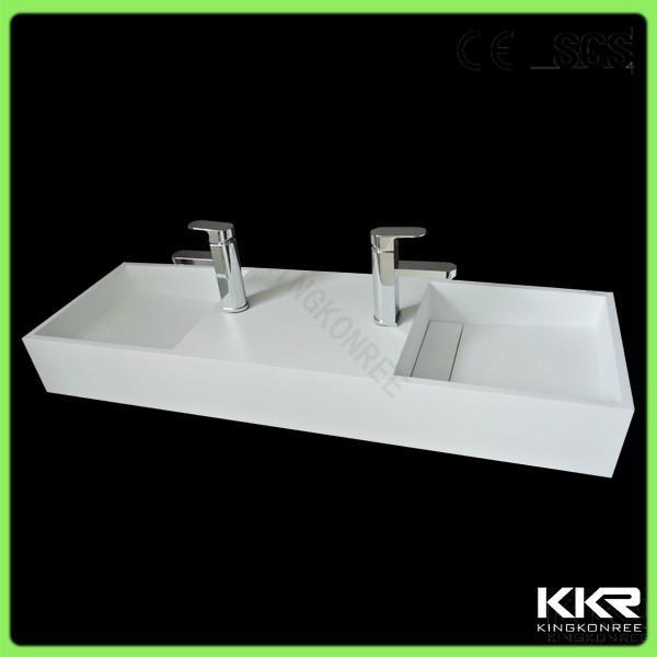 Trough Sink Manufacturers : solid surface trough sink - KKR-Wash Basin (China Manufacturer) - Sink ...
