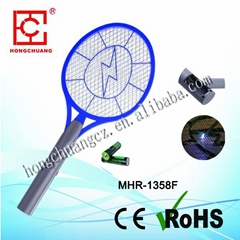 three lays net and safe mosquito racket