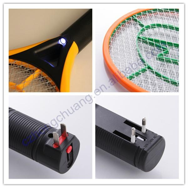 Safe electronic supplier mosquito insect racket 2