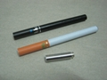 Semi-automatic electronic cigarette