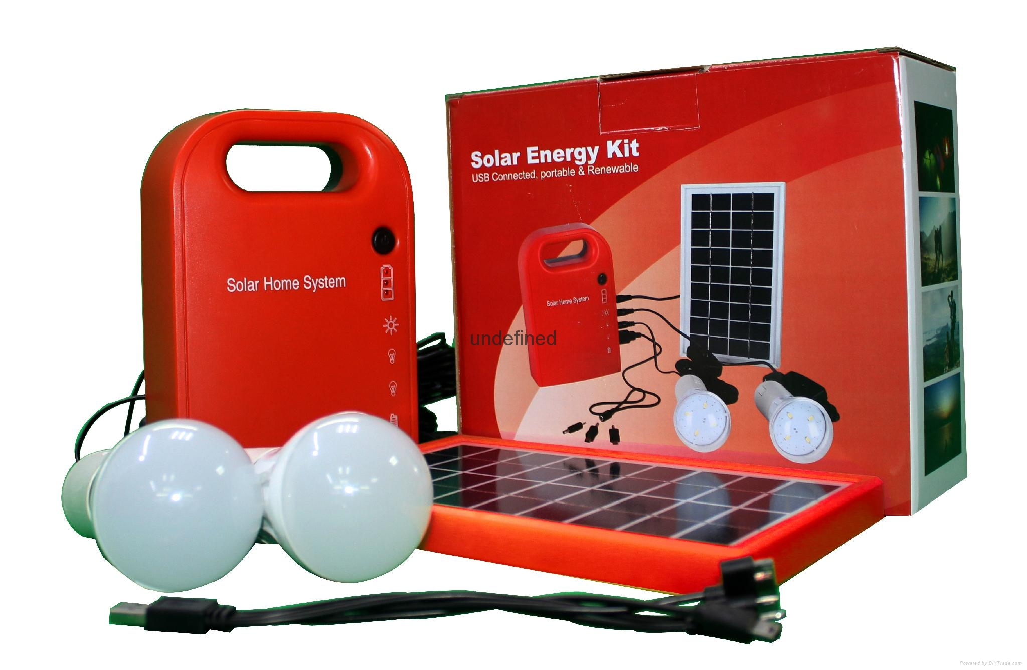 home used solar power generator  system 2