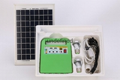 solar home use lighting generator with