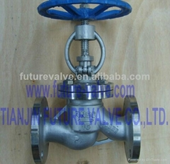 GOST Pn16 Dn50 Stainless Steel Globe Valve (J41W-16P)
