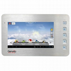JQ-1072T 7 Inch Android TCP/IP Video Door Phone-Intercom Interior Video Intercom