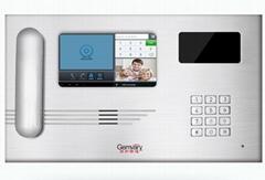 Android TCP/IP Video Door Phone Intercom Management Machine Jq-300f