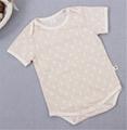 100% Organic cotton baby clothes 1