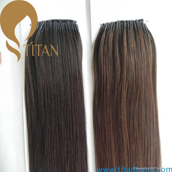 New Arrival Korea Hair Extension Virgin Human Hair Cotton String