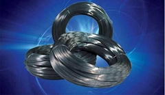Machinery with smooth surface (ga  anized) spring steel wire