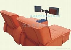 洗浴休息大厅液晶电视专用支架