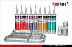 Polyurethane Auto Glass Windshield Bonding Adhesive Glue PU8611