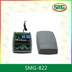 9V-24V DC fixed learning rolling code compatible remote control receiver SMG-822