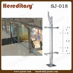 ndoor Stainless Steel Glass Balusters for Market (SJ-018)