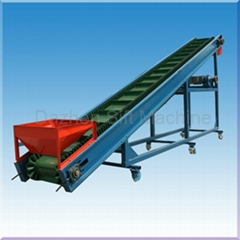DZL corrugated sidewall & cleated belt conveyor
