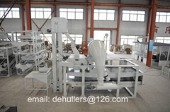 Advanced pumpkin seeds dehulling machinery- Supplied directly by real manufactur