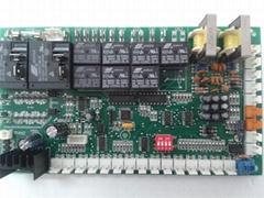 风冷冷热水双系统模块控制器